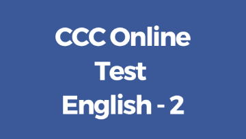 CCC Online Test in English 2